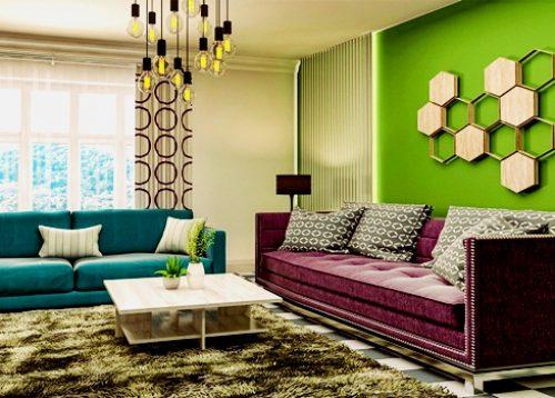 Como decorar com cores fortes?