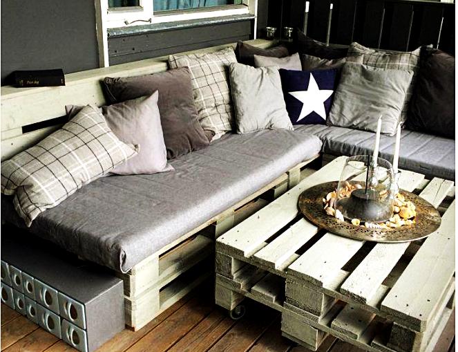 Compensa ter um sofá em palete?